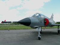 587 - Dassault Mirage IIIE/Preserved/Berlin-Gatow - by Ian Woodcock