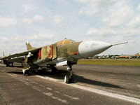 20 02 - Mikoyan-Gurevich MiG-23-MF/Preserved/Berlin-Gatow - by Ian Woodcock