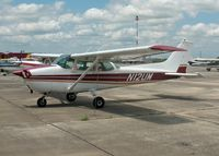 N12UM @ HDO - Cessna 172M Skyhawk, c/n 172-65266, The EAA Texas Fly-In - by Timothy Aanerud