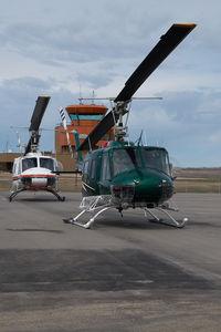 C-FSXX @ CZVL - Bell 205 - by Yakfreak - VAP
