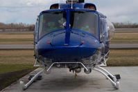 C-GGSO @ CZVL - Great Slave Helicopters Bell 212