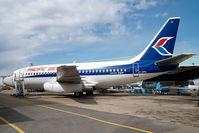 C-GIPW @ CYXD - Pacific Western Boeing 737-200