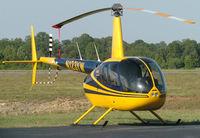 N123YW @ DAN - 2005 Robinson R44 in Danville Va. - by Richard T Davis