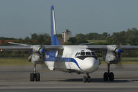 LZ-MNT @ VIE - Scorpion Air Antonov 26 - by Yakfreak - VAP