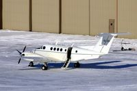 94-0320 @ CID - C-12R on the Rockwell-Collins ramp - by Glenn E. Chatfield