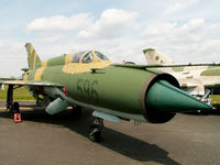 596 - Mikoyan-Gurevich MiG-21-M/Preserved/Berlin-Gatow - by Ian Woodcock