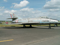 72 - Dassault Super Mystere B.2/Preserved/Berlin-Gatow (coded 10-SA) - by Ian Woodcock
