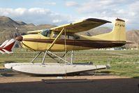 C-FWMW @ YKA - Cessna 185 - by Andy Graf-VAP