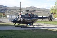 C-GPIH @ YKA - CC Helicopter Bell 407 - by Andy Graf-VAP