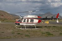 C-GWCF @ YKA - CC Helicopter Bell 206 - by Andy Graf-VAP