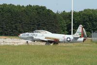 57-0688 @ KEKM - Lockheed T-33A - by Mark Pasqualino