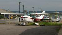 G-IFAB @ EGPE - Cessna F182Q
