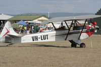VH-LUT - image taken at the 15th annual festival of flight Watts Bridge Memorial Airfield QLD - by ScottW