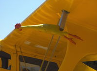 N79484 @ SZP - 1943 Beech D17S STAGGERWING, P&W R-985 Wasp Jr. 450 Hp, rubber chicken pitot tube cover - by Doug Robertson