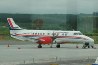 G-MAJA @ INV - Eastern Airways - (Glass reflection inside Lounge) - by David Burrell