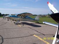 N2544P @ AEL - Fly in Breakfast at AEL - by Ed Wells