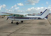 N1219F @ HDO - 1979 Cessna 172N Skyhawk, c/n 17272974, The EAA Texas Fly-In - by Timothy Aanerud