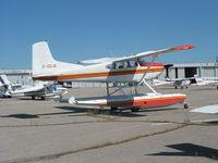 C-GDJE @ CYKZ - Cessna 185 floatplane at Buttonville, Toronto - by Pete Hughes