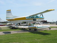 C-GALY @ CNC3 - Cessna 185 floatplane at Brampton - by Pete Hughes