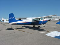 CF-KJW @ CYKZ - CF-KJW sit-up-and-beg Cessna 182 at Buttonville - by Pete Hughes
