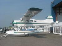 C-FJEF @ CYOO - C-FJEF Beaver floatplane at Canadian Aviation Expo, Oshawa - by Pete Hughes