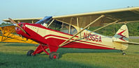 N1355A @ KBQR - Nice ride, Joe- seen at the EAA Fly-In picnic - by Jim Uber