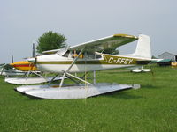 C-FFCY @ CNJ4 - C-FFCY Cessna 180 on  floats at Orillia - by Pete Hughes