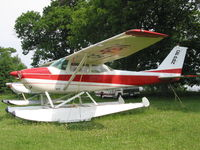 CF-PBN @ CNJ4 - CF-PBN Cessna 172 on  floats at Orillia - by Pete Hughes