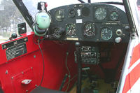 OE-AUL @ LOAS - Piper Aircraft Corp. PA18-150 / Cockpit-View