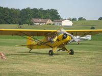 N6841H @ 2D7 - Father's Day fly-in at Beach City, OH - by Bob Simmermon