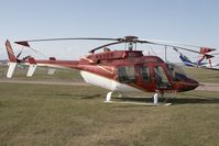 C-GMBC @ YYC - Eagle Copters Bell 407 - by Andy Graf-VAP