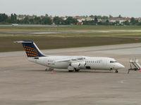 D-AEWA @ EDDT - BAe 146-300/Lufthansa Regional/Berlin-Tegel - by Ian Woodcock