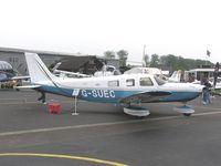 G-SUEC @ EGTB - Piper PA-32 on show at Aero Expo 2007 at Booker - by Simon Palmer