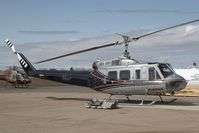 C-FFHB @ YQF - Mustang Helicopters Bell 205 - by Andy Graf-VAP