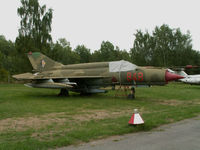 848 - Mikoyan-Gurevich MiG-21 bis/Cottbus Mueum-Brandenburg (carries 848) - by Ian Woodcock