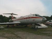 DDR-SCH - Tupolev Tu-134/Interflug/Finow-Brandenburg - by Ian Woodcock