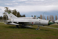 4038 @ CYQQ - Czech Air Force Mig 21 - by Yakfreak - VAP