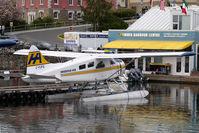 C-FJFQ @ CYWH - Harbour Air Beaver