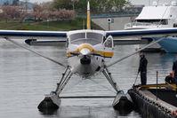 C-GUTW @ CYWH - Harbour Air Otter