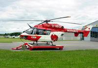 D-HECE @ EDTF - Eurocopter / MBB BK-117 B-2 - by J. Thoma
