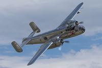 N6123C @ LOAU - B-25J of the Flying Bulls.