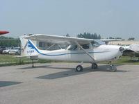 C-FUEW @ CYOO - C-FUEW Cessna 172 at Oshawa - by Pete Hughes