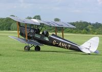 G-AHLT @ EGWN - Tiger Moth at Halton - by Simon Palmer