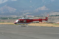 C-GYAA @ KRIL - Bell 407 - by Mark Pasqualino