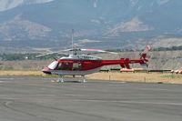 C-GYAA @ KRIL - Bell 407 - by Mark Pasqualino