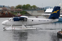 C-GJAW @ CYWH - West Coast Air Dash 6 Twin Otter