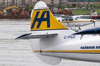 C-FIUZ @ CYWH - Harbour Air Dash 3