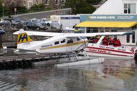 C-FJFQ @ CYWH - Harbour Air Dash 2