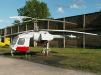 D-HOAW - Kamov Ka-26/Preserved at Peenemunde (marked as DDR-SPW) - by Ian Woodcock