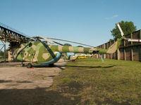 911 - Mil Mi-8T/Preserved at Peenemunde - by Ian Woodcock